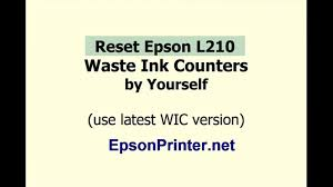 resetter epson l210 terbaru how to reset epson l210 by wic reset utility tools youtube