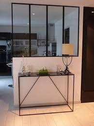 separation de cuisine en verre l de fer réalisation sur mesure de portes d intérieures