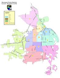 Louisiana Parishes Map District Maps Shreveport La Official Website