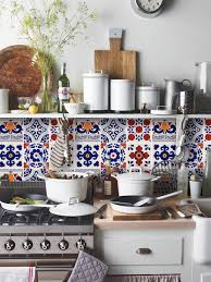 tile decals quadrostyle mexican mix removable vinyl wallpaper