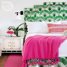 green bedroom photos and decorating tips hot pink and green boho bedroom