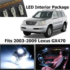 lexus gx470 low gear amazon com classy autos lexus gx470 white interior led package