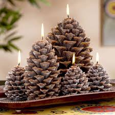Pinecone Pine Cone Candles The Green Head