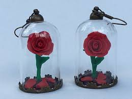 petals for sale beauty and the beast earrings beauty and the