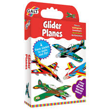 galt toys activity pack glider planes for 5 year old child