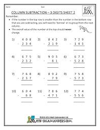 2nd grade mental math worksheet grade 3 mathematics wosenly free worksheet
