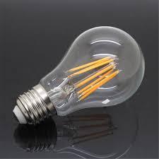 high power e27 16w 220v 110v edison glass filament bulb led lamp