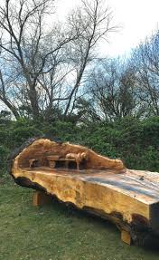 tree trunk bench plans creative tree stump ideas tree stump bench