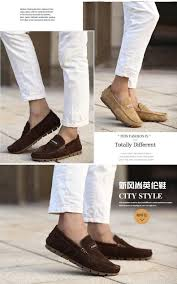 Comfortable Moccasins Male Genuine Pig Leather Flat Shoes Cow Muscle Outsole Men U0027s Shoes