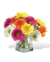 Silk Flower Plants - decorate happy with gerbera daisy silk flower centerpiece at