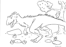 coloring pages of dinosaurs for preschoolers creativemove me