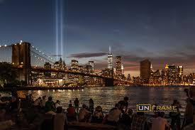 9 11 Memorial Lights Tribute In Light On 9 11 Unframe