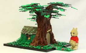 wood lego house make your own winnie the pooh the brick bank
