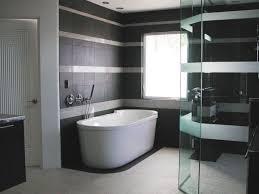 Purple And Cream Bathroom Contemporary Shower Ideas Exuberance White Glossy Ceramic Wall