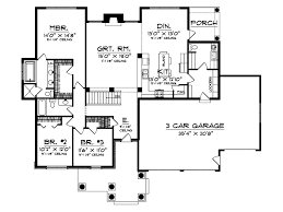 cold lake craftsman ranch home plan 051d 0275 house plans and more