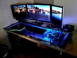 desk best gaming desks inside stylish best gaming station