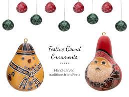 festive gourd ornaments fair trade winds
