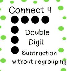 145 best subtraction multiple digits images on pinterest