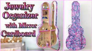 Homemade Decorations For A Girls Room Diy Room Decor Jewelry Organizer Cabinet With Mirror Guitar