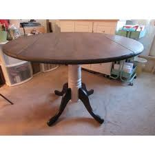 round dual drop leaf dining table international concepts unfinished 42 inch round dual drop leaf