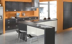 cuisine orange et noir stunning decoration cuisine orange et vert gallery design trends