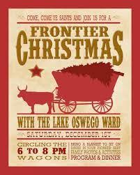 Cowboy Christmas Party Invitations - 11 best ward christmas party images on pinterest christmas