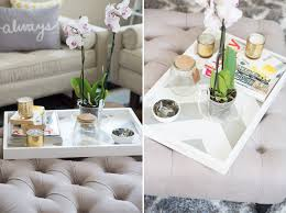 Diy Ottoman From Coffee Table by Gray Coffee Table Tray Thesecretconsul Com