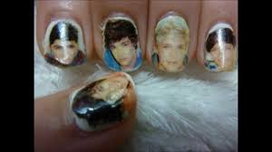 tutorial nail art one direction one direction nails youtube