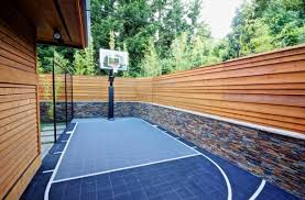 Backyard Basketball Court Get The Best Basketball Court For Your Backyard From 360 Sports