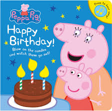 peppa pig birthday peppa pig happy birthday by peppa pig