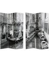 Zebra Room Divider Deals On Oriental Furniture Handmade Canvas Double Sided Elephant