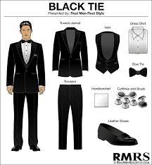 men u0027s dress code guide 7 levels of dress code etiquette black