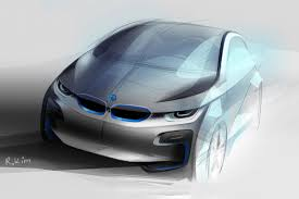 bmw i4 concept to debut at the la motor show auto express