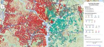 Washington Dc Area Map by Us Households On Web Maps Geoawesomeness