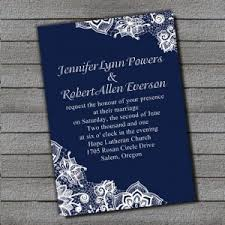 navy blue wedding invitations top 20 hotsale navy blue wedding invitations at ewi lace