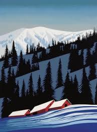 eyvind earle christmas cards the legacy of artist eyvind earle province