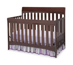 Convertible Cribs With Toddler Rail by Amazon Com Delta Children Remi 4 In 1 Crib Chocolate Baby