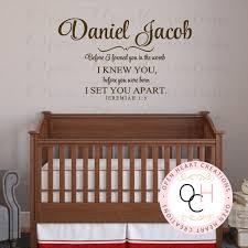 Scripture Wall Decals For Nursery Wall Decals Scripture Nursery Color The Walls Of Your House