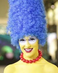 Marge Halloween Costume Halloween Marge Simpson Makeup Costume Korean Contact Lens