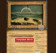 free templates blogger templates art u0026 photography nightmare