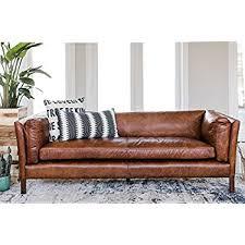 Century Leather Sofa Amazon Com Modway Engage Mid Century Modern Upholstered Leather