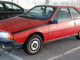 renault car 1980 fuego ts