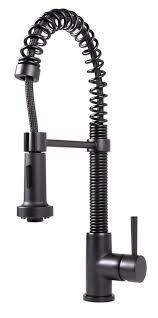 sprayer kitchen faucet vigo edison single handle pull spray kitchen faucet matte