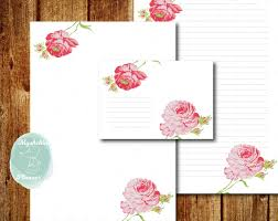 letter writing paper printable printable writing paper printable letter paper printable envelope this is a digital file