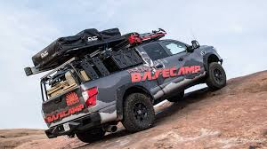 nissan titan camper nissan titan xd project basecamp is for backcountry explorers