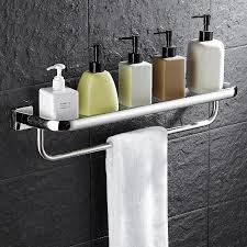 Bathroom Accessories | wall mounted bathroom accessories 30cm glass shelf bathroom