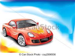 si e auto sport auto sport farbe mächtig abbildung vektor auto clipart