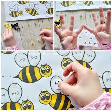 bumblebee preschool math printable i heart crafty things