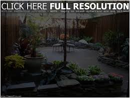 Backyard Space Ideas Backyards Gorgeous Townhouse Backyard Landscaping Ideas