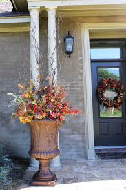 Outdoor Thanksgiving Decorations by 87 Best Fall Urns Images On Pinterest Fall Containers Fall And